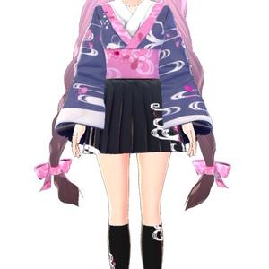 [3Dモデル]桜花