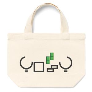 【yossyオリジナルロゴ ランチバッグ】 某パズルゲームデザイン