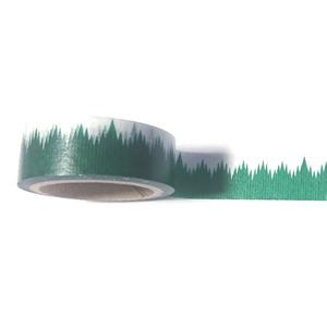 【マスキングテープ】緑のギザギザのアレ