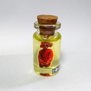 ホルマリン漬け風瓶詰めカニ人間置き物