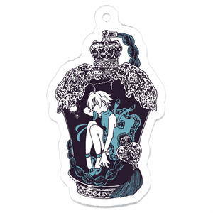 純正少女の瓶詰め香水 アクリルキーホルダー