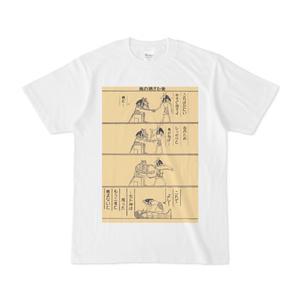 PAPYRUS -パピルス- セト神とアヌビス神のやりとりTシャツ