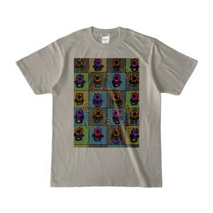 かっぷけーきくんたち (淡色)カラーTシャツ
