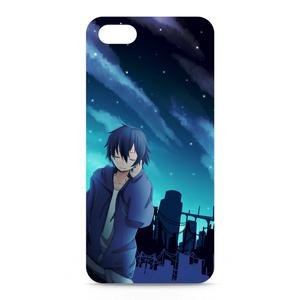 星空と男子iPhoneケース