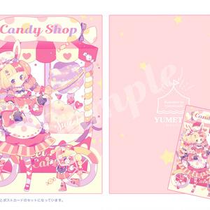 【7/8より自宅発送対応】candy candy / クリアファイルセット