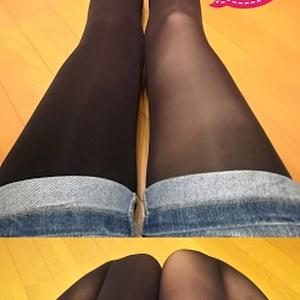 みんとちゃんの黒タイツ(Mサイズ/50デニール)