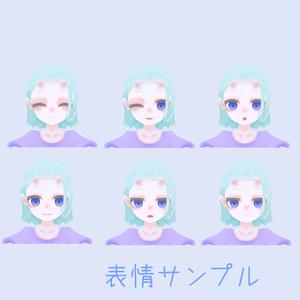 オリジナル3Dモデル「しゅがーれいずど」