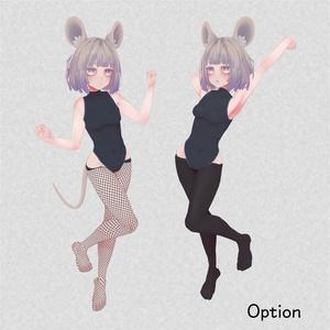 オリジナル3Dモデル「ちゅろ」