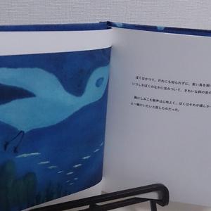 ぼくの小さな青い鳥[見返し:マゼランブルー]