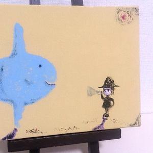 """【絵画】""""休日""""(molamola&me)"""