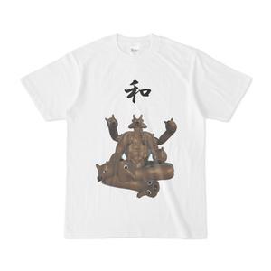和風な犬Tシャツ