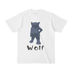 オオカミTシャツ2