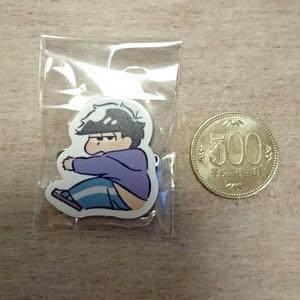 ぎゅ~っとシリーズバッチ(色松Ver.)40×40(mm)