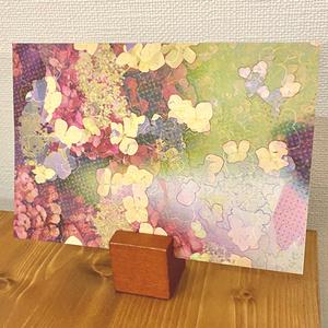 ポストカード「pink flowers」