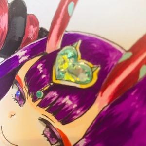 Shikishi 04 FGO キャスター酒呑童子