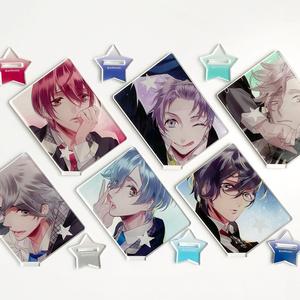 Starry☆Sky カード型ランダムアクリルスタンド (全13種)