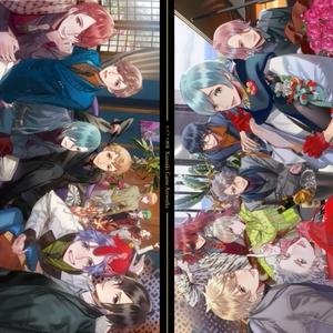 【ランダムA4ポスター2枚付き (B)】カズアキ画集 Kazuaki game artworks + ランダムA4ポスター2枚付き限定版 (B)