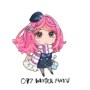Winter真悠さんアクリルキーホルダー