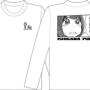 ぷりん長袖Tシャツ