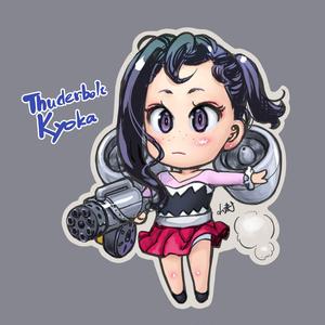 Thunderbolt鏡花 アクリルキーホルダー