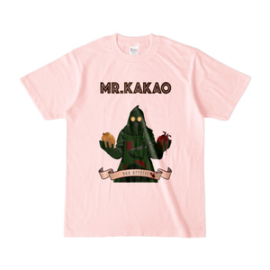 MR.KAKAO Tシャツ(ライトピンク)