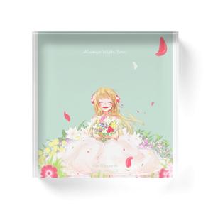 No Record アクリルブロック 2019春