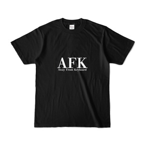 Away From Keyboard Tシャツ Black