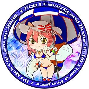 缶バッジ キャスター 玉藻の前 FGO Fate/GrandOrder