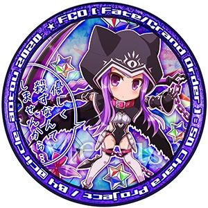 缶バッジ メドゥーサ ランサー FGO Fate/GrandOrder