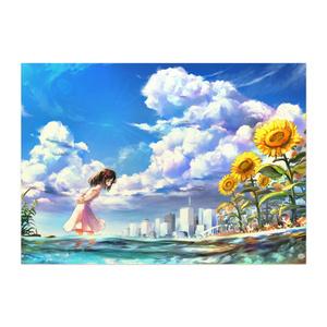 未完成エイトビーツクロスフェードイラストポスター(晴れ・キャラ)