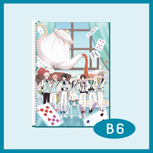 AlbaNoxお茶会リングノート(B6サイズ)