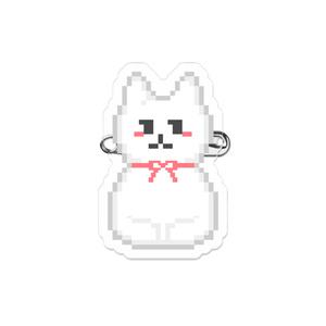 香箱ねこちゃん(アクリルバッジ)