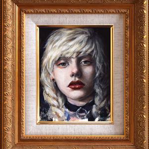 オリジナル原画 「Blush」Oil Paintnig