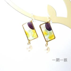 【刀剣乱舞】フラワータイルのイヤリングorピアス【5/2新作追加】