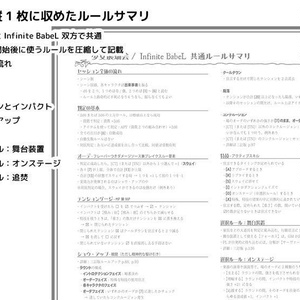 Infinite BabeL セッション支援パッケージ(三訂版対応)