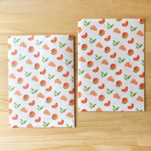 平袋 「オレンジ」 6枚セット