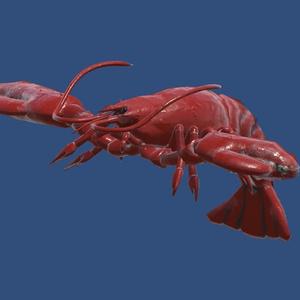 【VRchat】ロブスター【Humanoid対応】[Lobster]