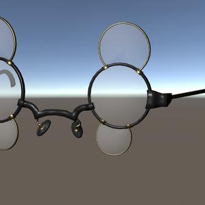 【VRChat想定】多眼用眼鏡 2種 [2 Glasses for multiple eye]