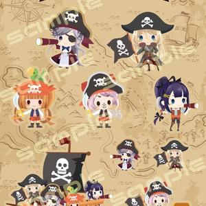 クラフトステッカー海賊。ver