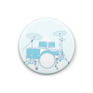 青ドラム。