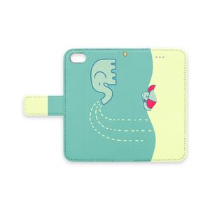象と鳥のiPhoneケース