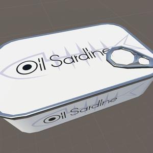 Oil Sardine Can