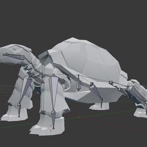 カメノメカ / Mech Tortoise