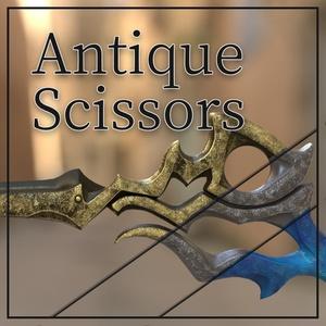 Antique Scissors