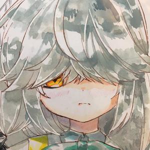 艦これイラスト色紙 浜波