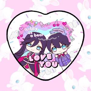 【缶バッチ】LOVE YOU