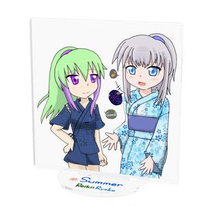 遼子&レイキ (夏)アクリルスタンド