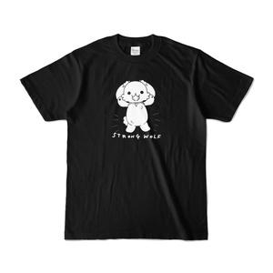 ストロングうるふTシャツ黒