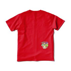 野菜たっぷりTシャツ赤