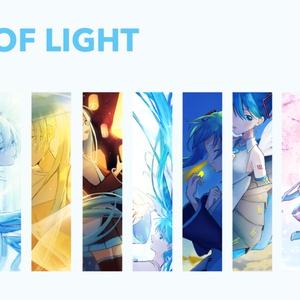 初音ミクイラスト集「A RAY OF LIGHT」